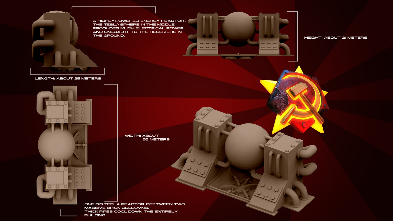 Soviet Tesla Reactor