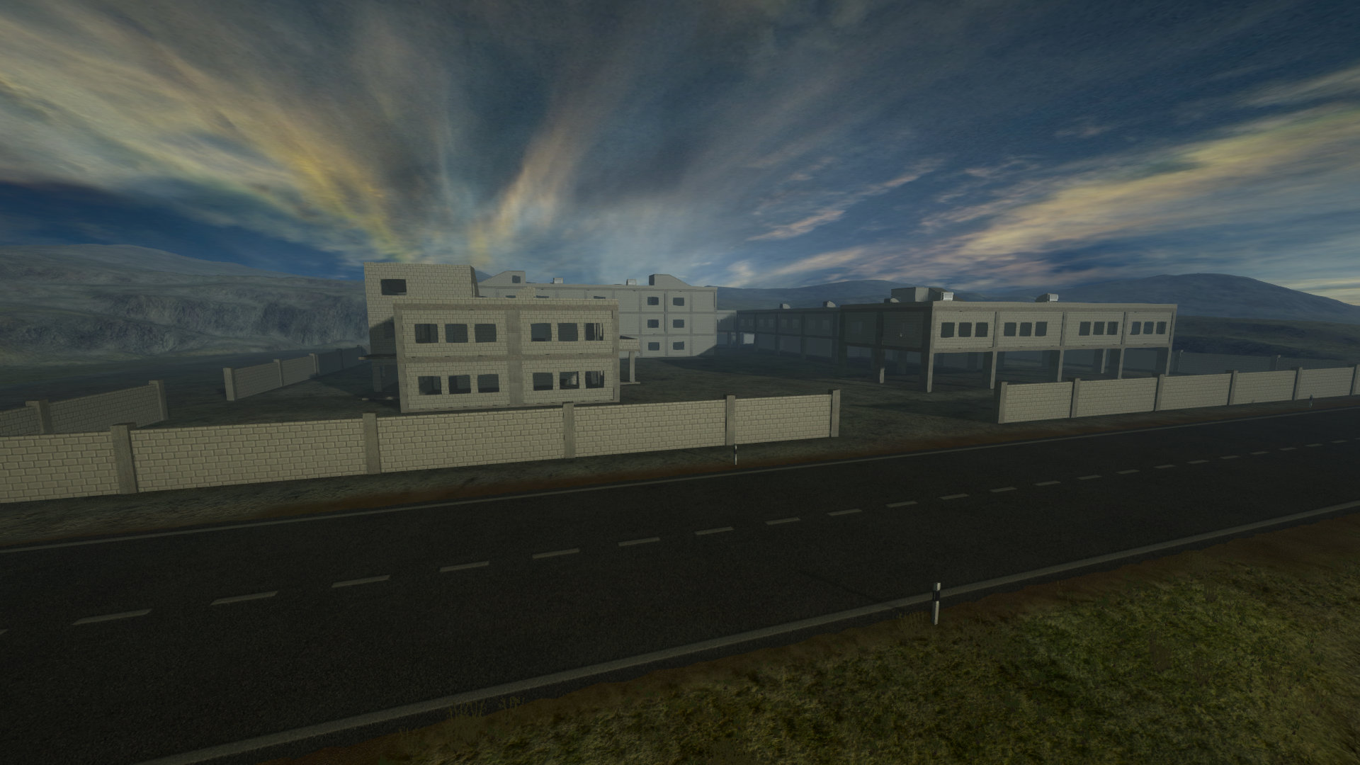 TG BuildingSite dawn