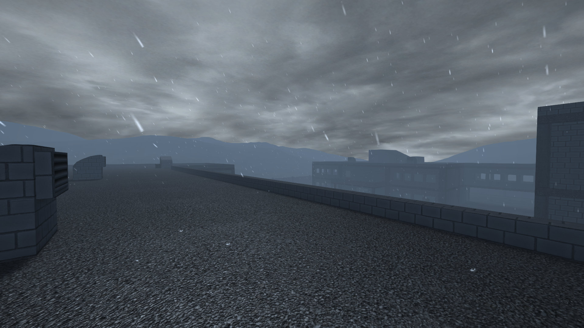 TG BuildingSite rain