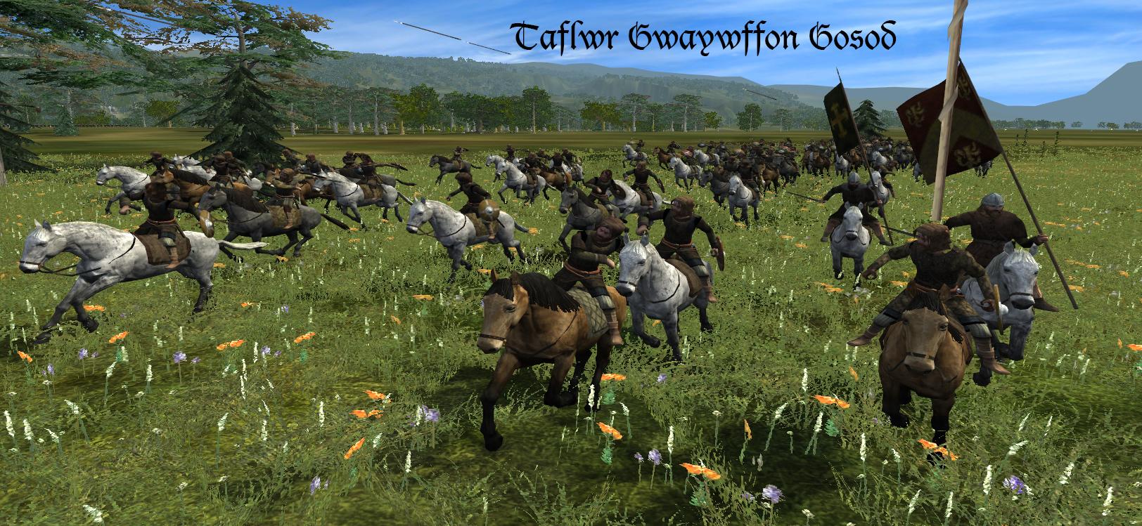 mounted skirmishers