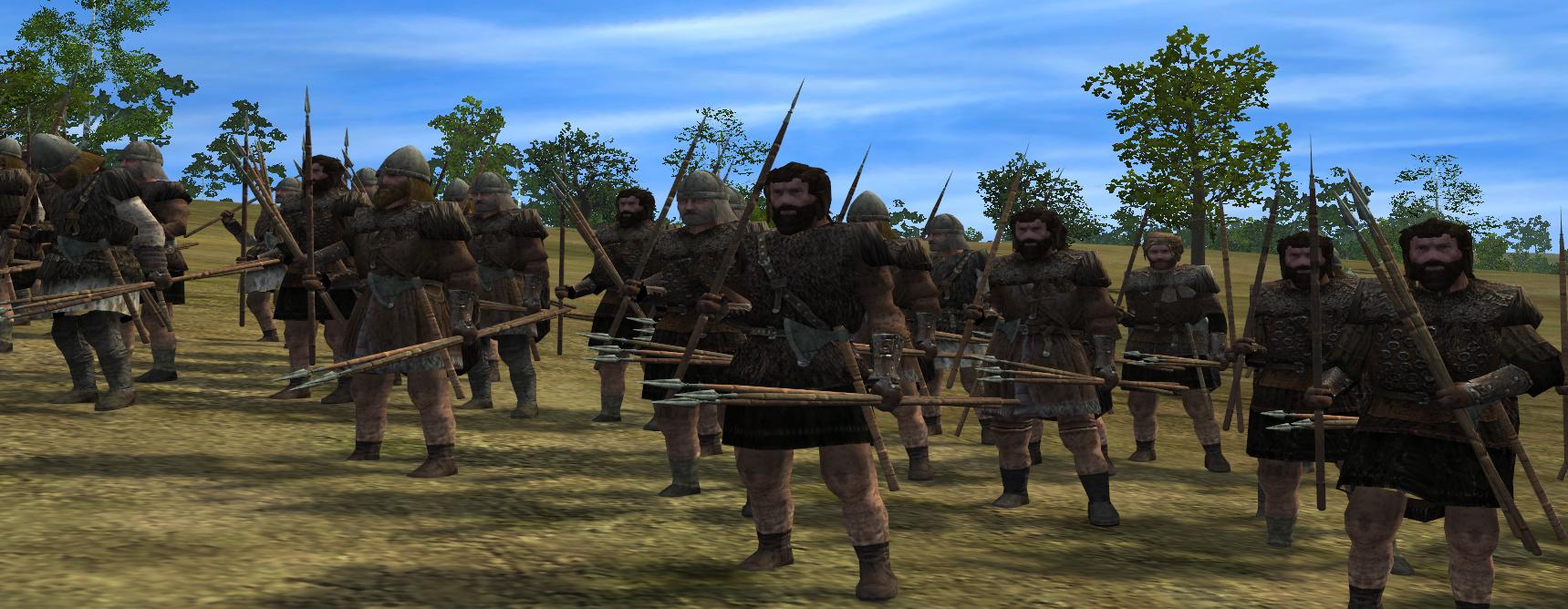 welsh skirmishers