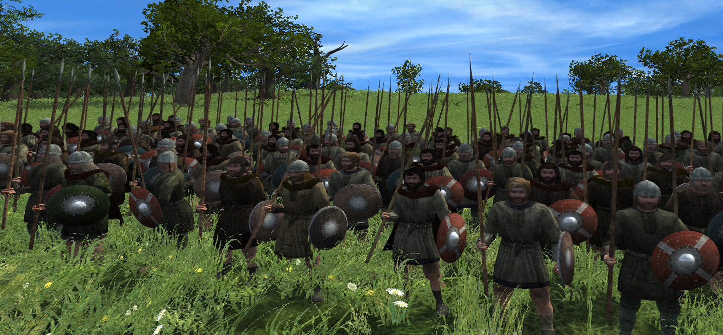 welsh spearmen