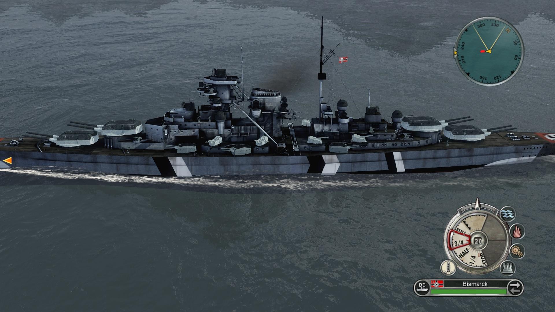 Bismarck texture
