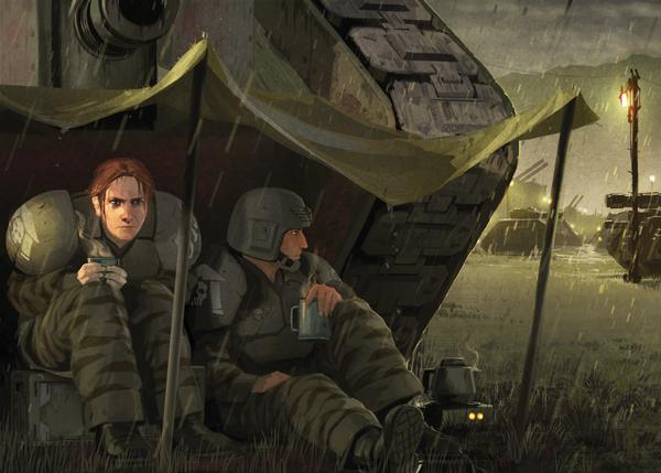 Also female guardsmen imperial g