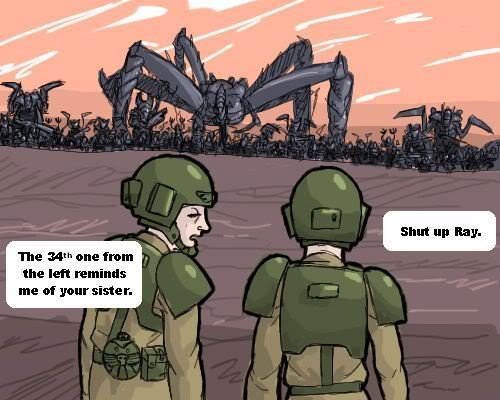 The imperial guard are hardcore