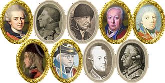 Denmark Generals