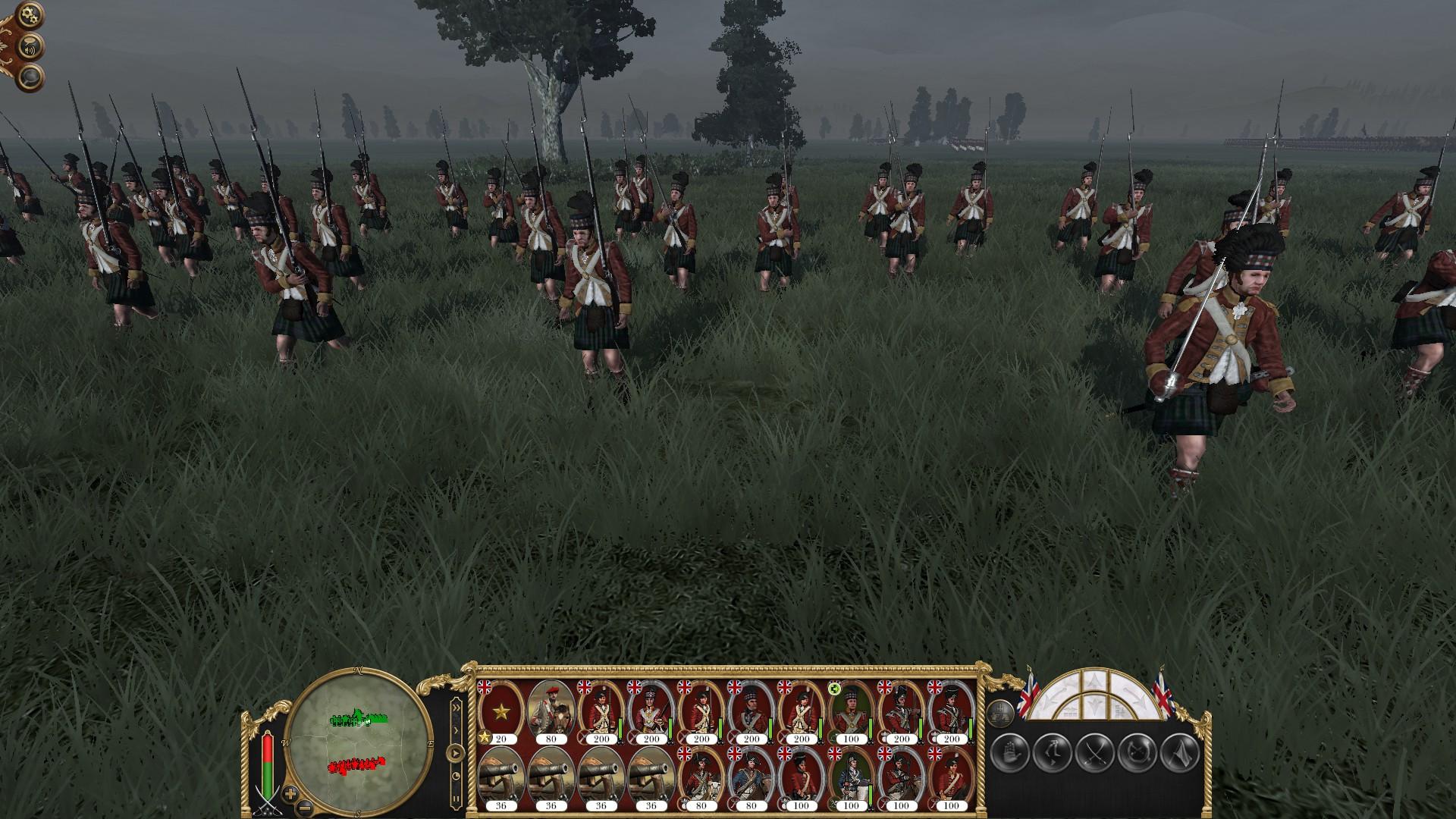 GB light Highlanders