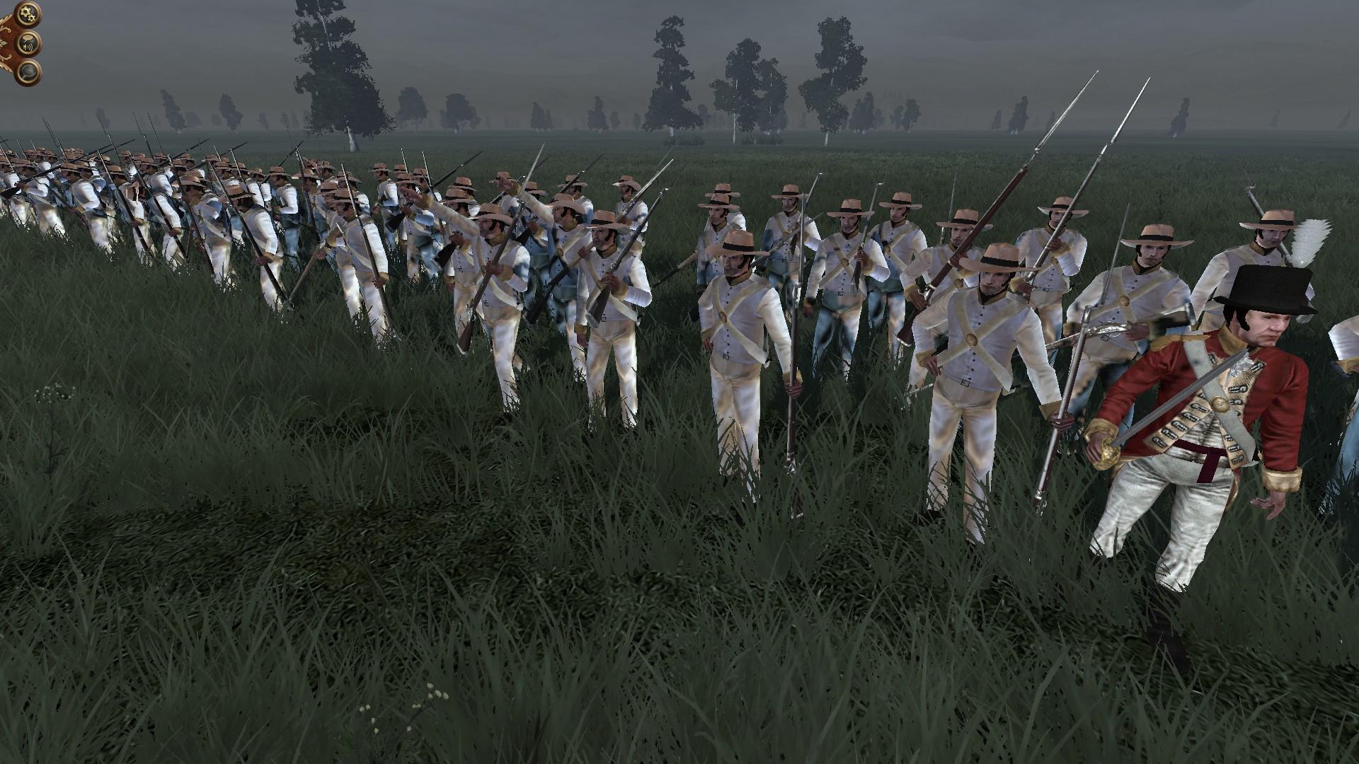 Generic White Planters Militia