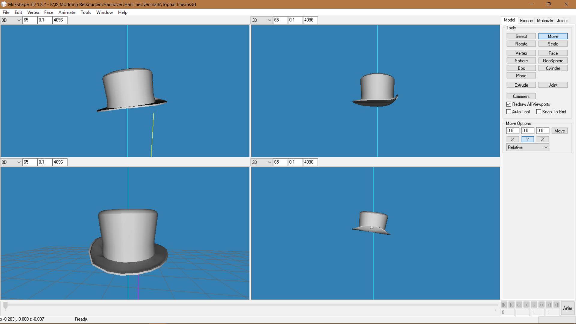 Top Hat 1
