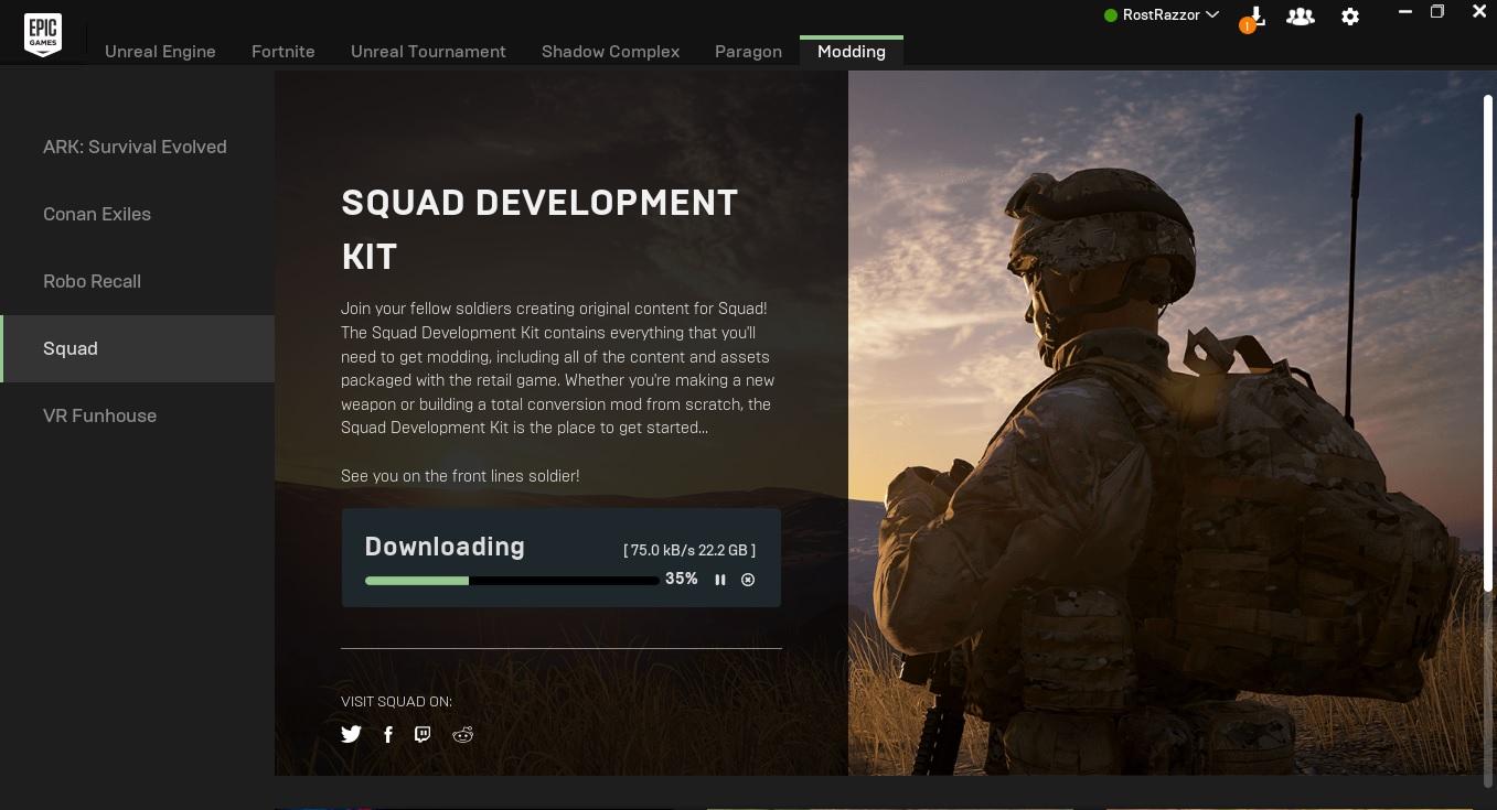 squad SDK image - RostRazzor - Mod DB