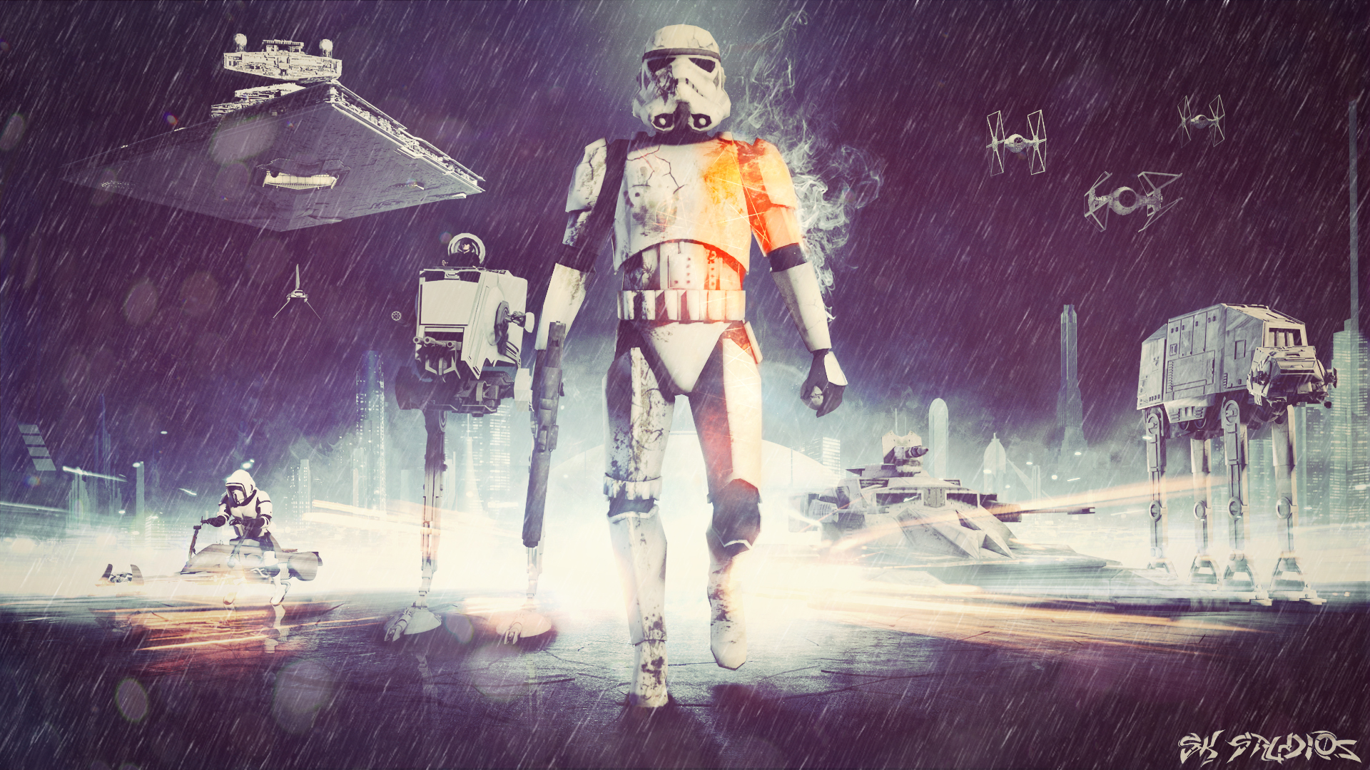 Star Wars Battlefront 3 Wallpapers: Star Wars Battlefront (BF3 Edition) Empire Image