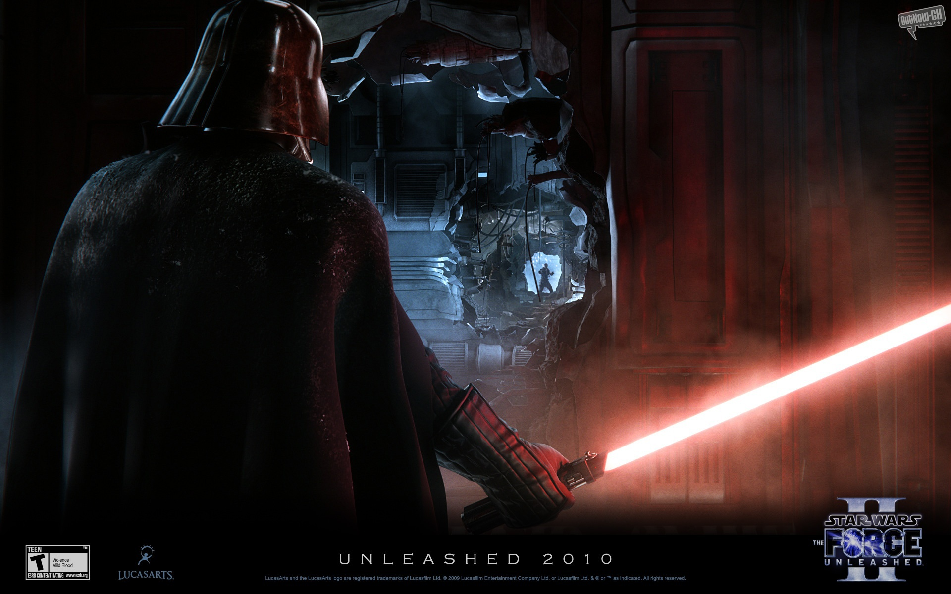 star wars the force unleashed ii wallaper 02 image - arek15arekde