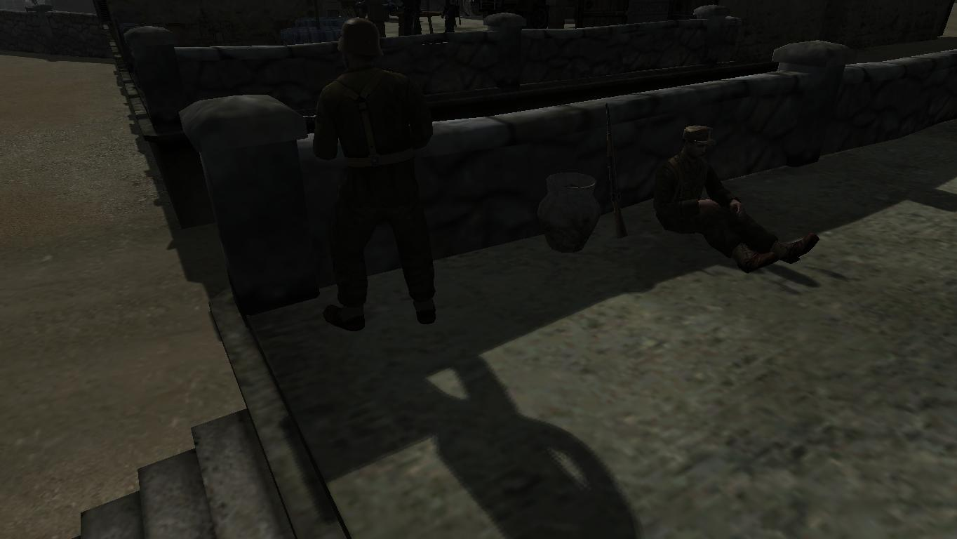 Entrance guards 1