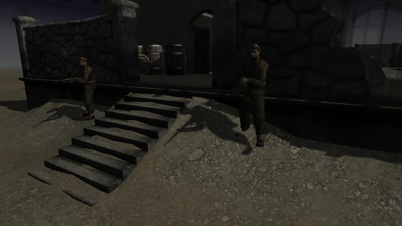 Entrance guards 2