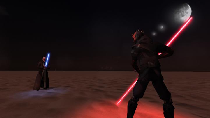 Maul vs. Ben Kenobi