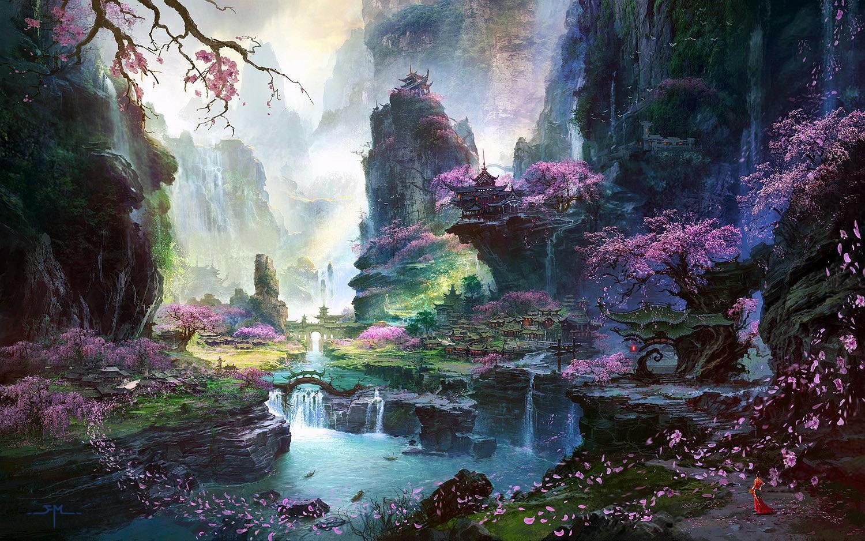Fantasy Japanese Art