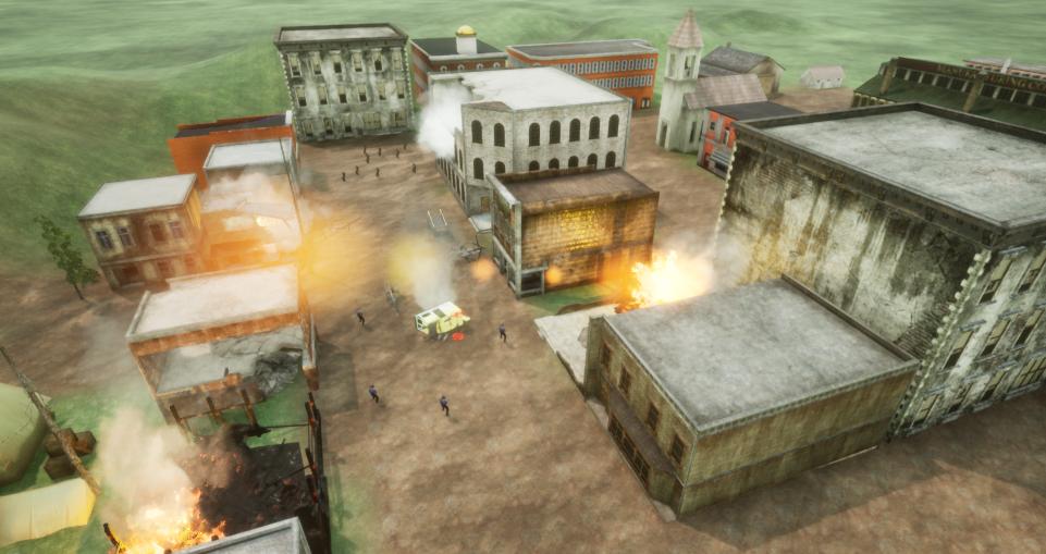 Townablaze
