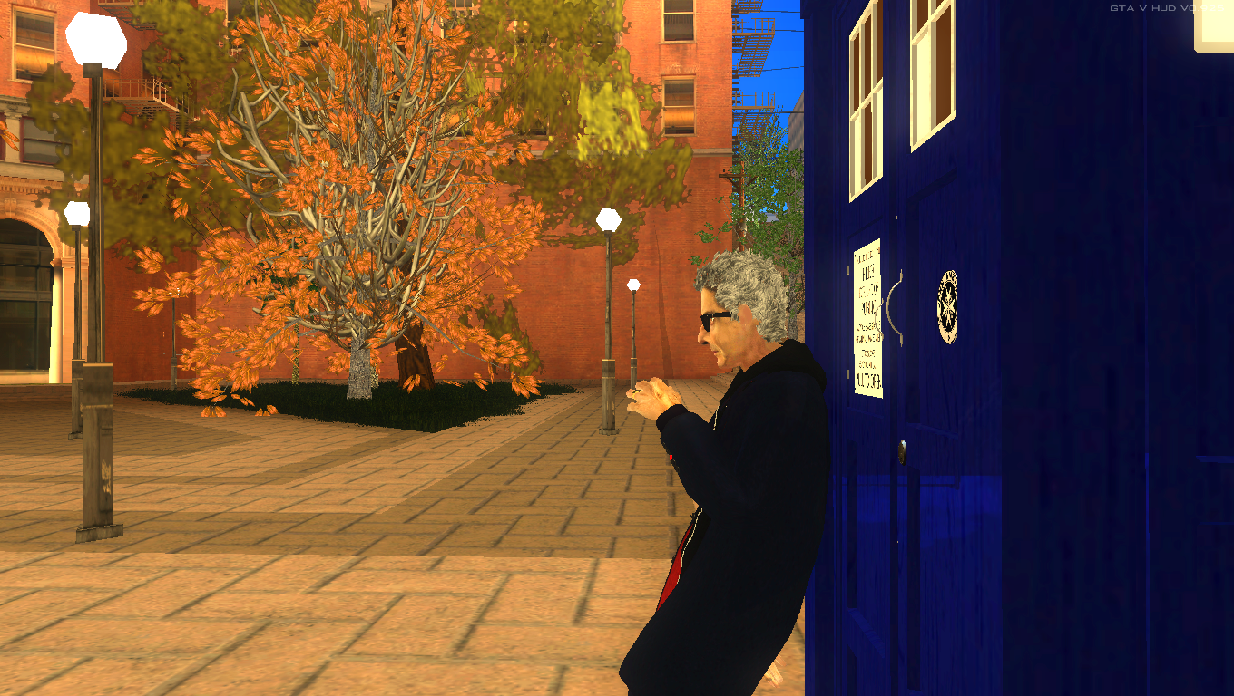 Doctor Who: Daleks Invasion mod for Grand Theft Auto: San