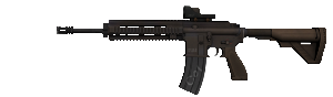 3  M416 Reflex
