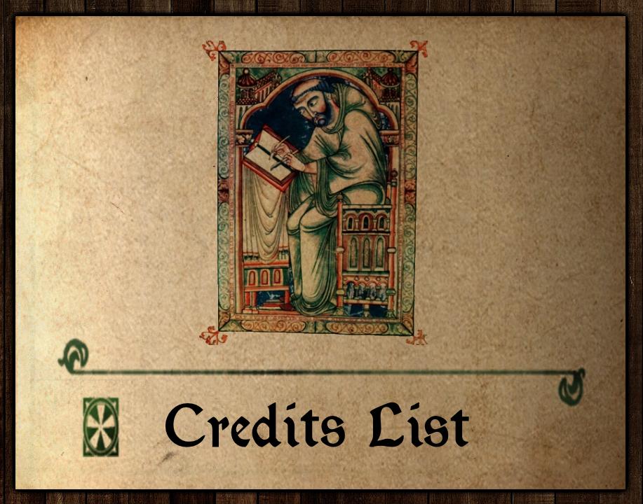 Credits List