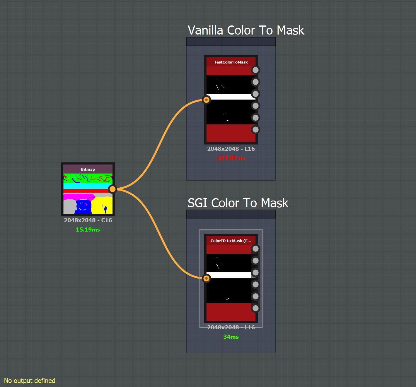 Comparing Stock ColorToMask Co