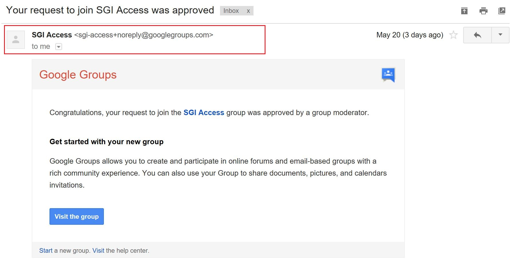 Google Group Request To Join Gra