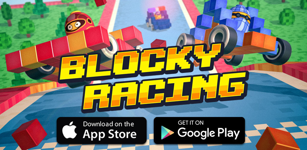 Blocky Racing iOS, Android game - Mod DB
