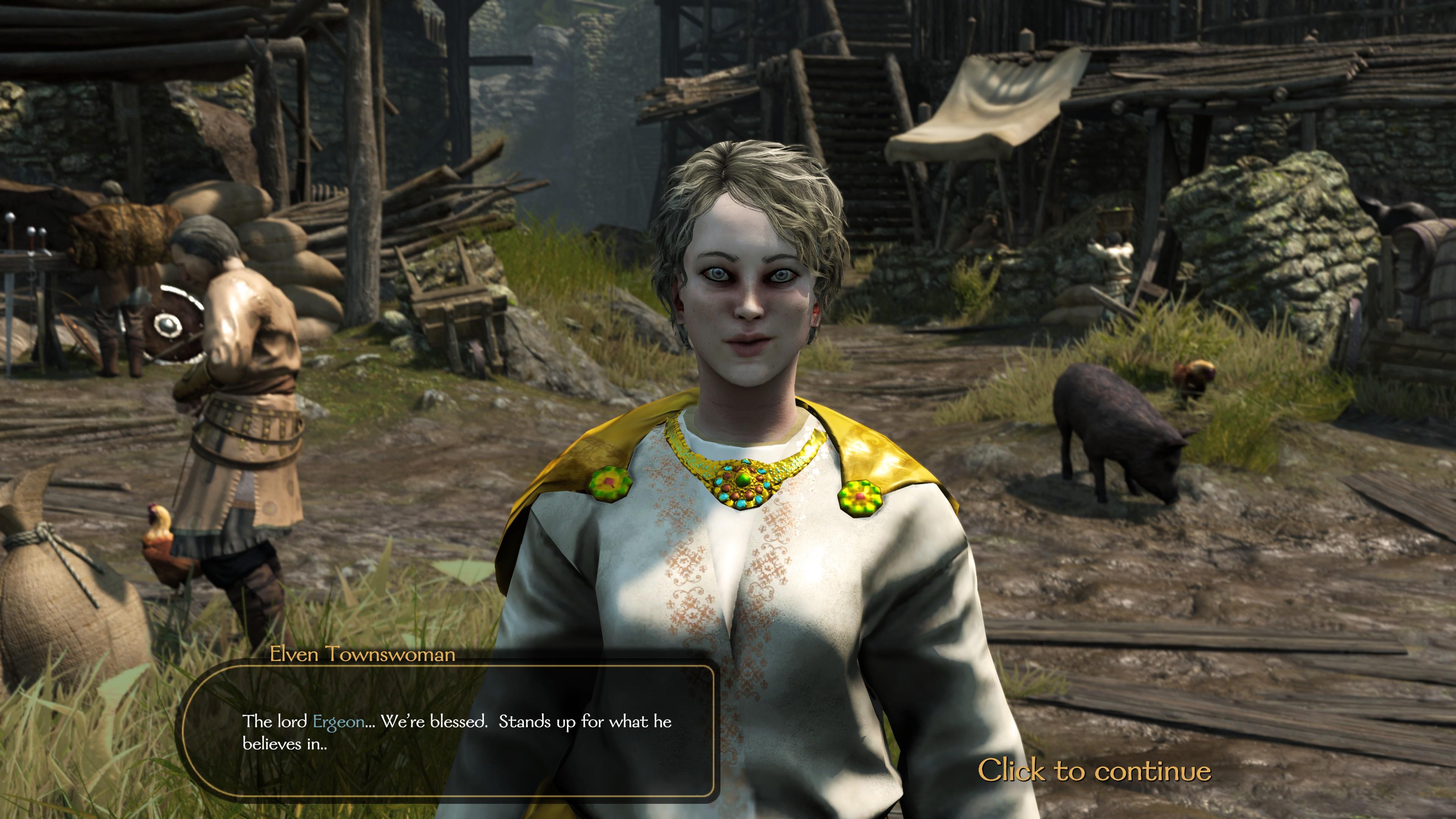 High Elf Townswoman