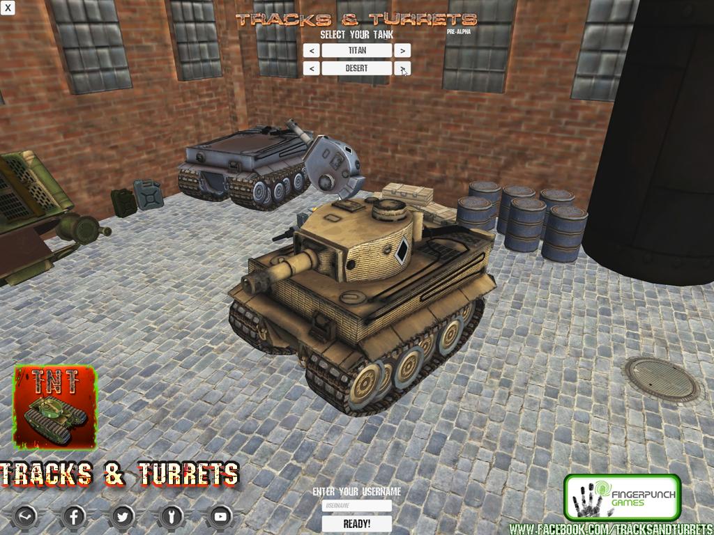 Tank Selection & Usernames