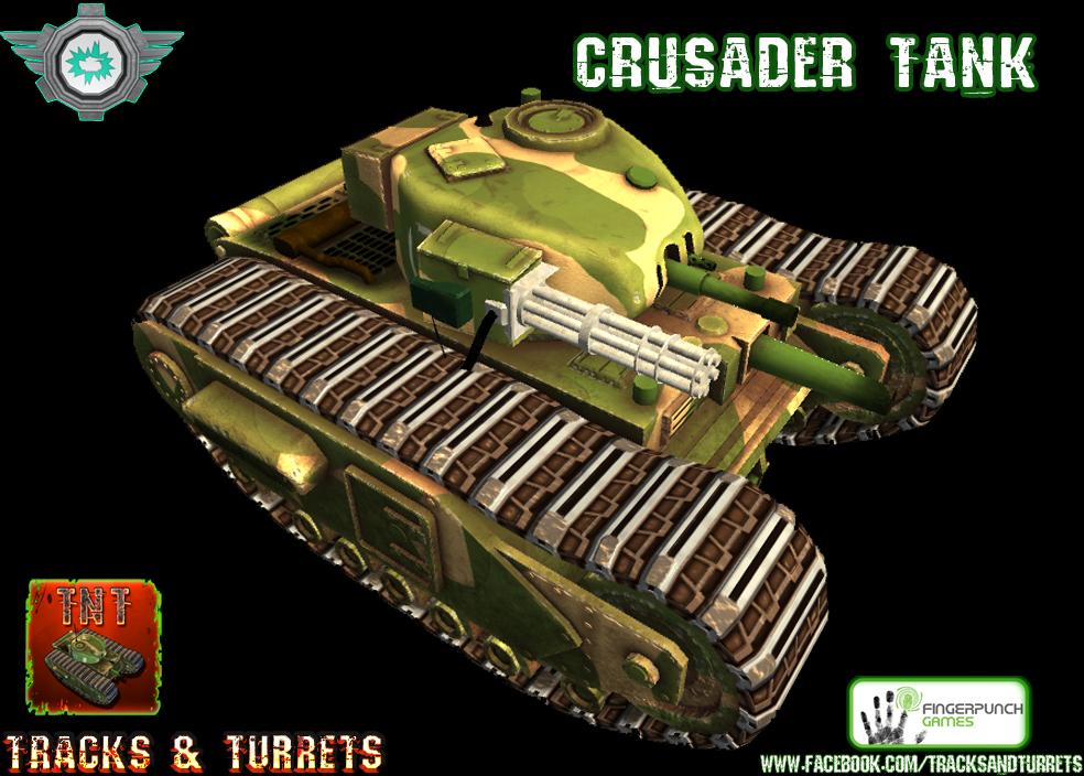 crusader gatling gun 1