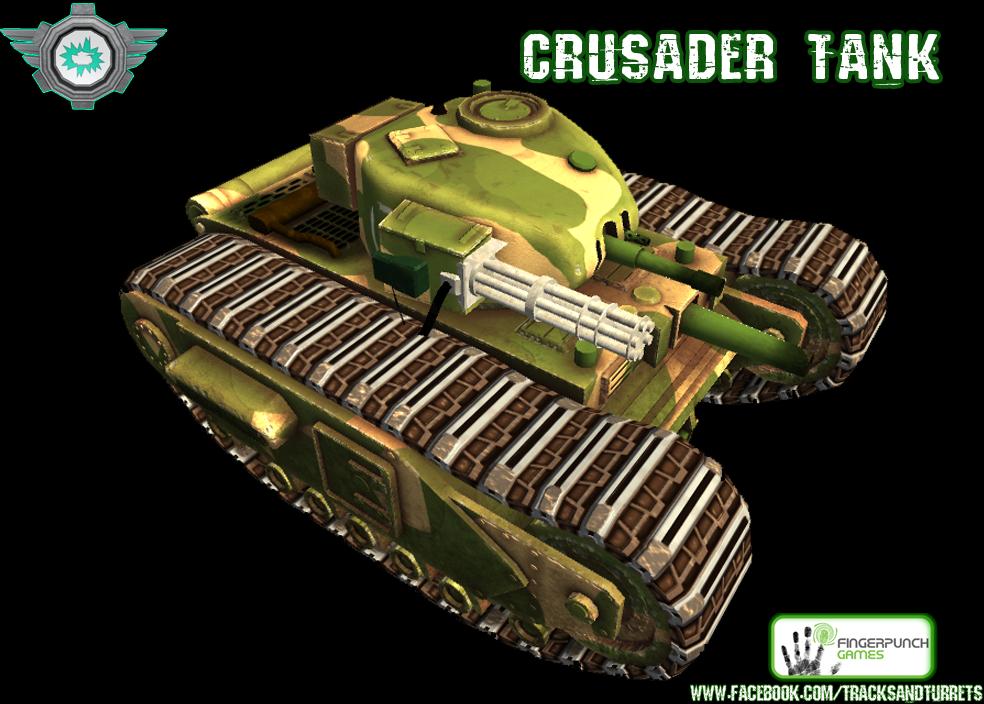crusader gatling gun