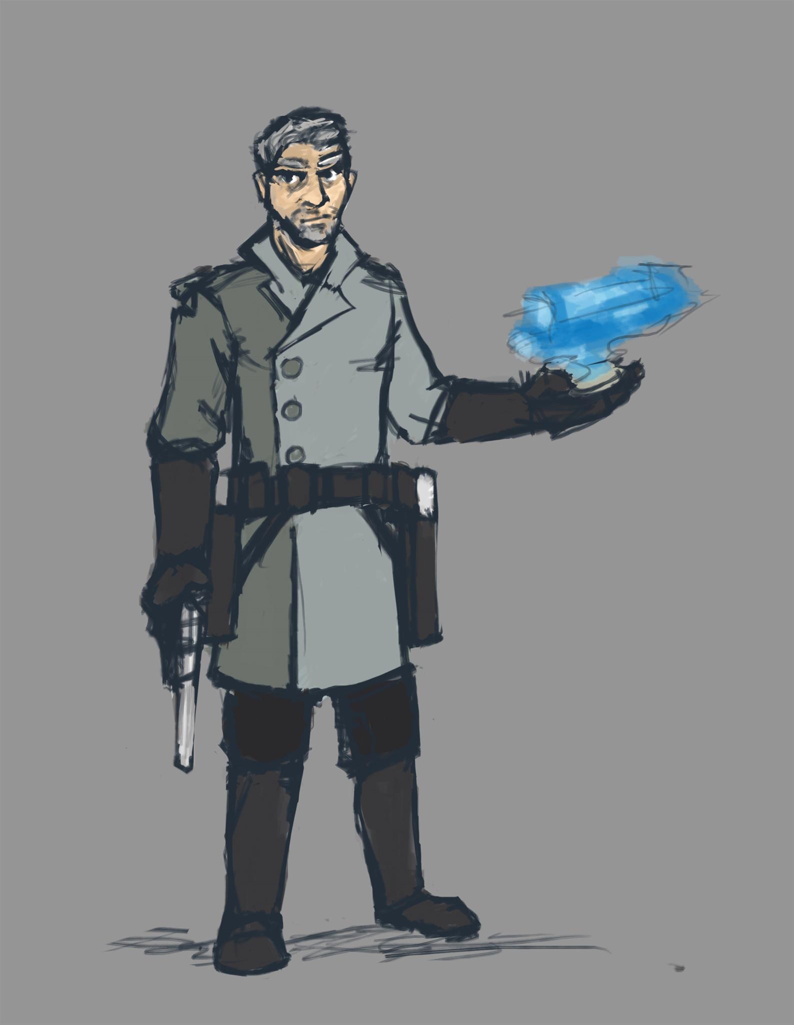 Concept of Captain Elias