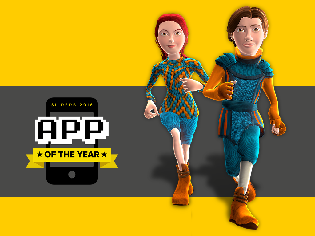 CHASERS in top 10 of the Slide DB 2016 App of the Year Awards!