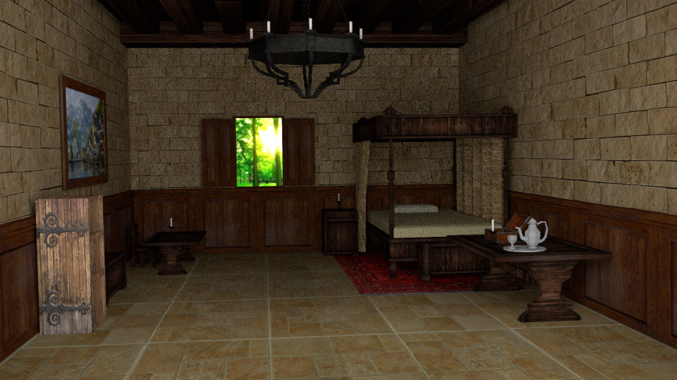 Report RSS Interior Medieval Bedroom (view Original)