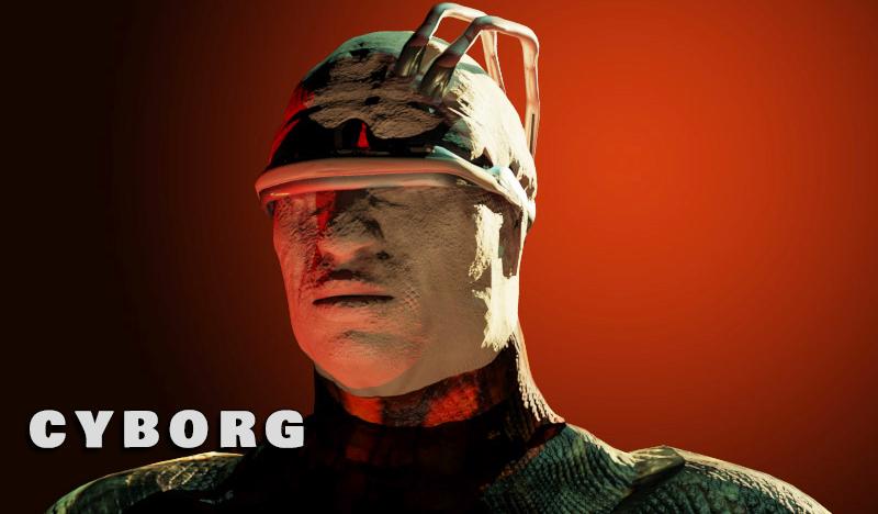 Portrait Cyborg