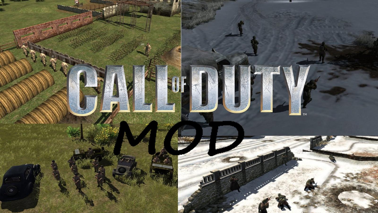 call of duty 1 mod full