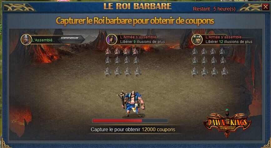 Dawn of Kings annonce le contenu 1