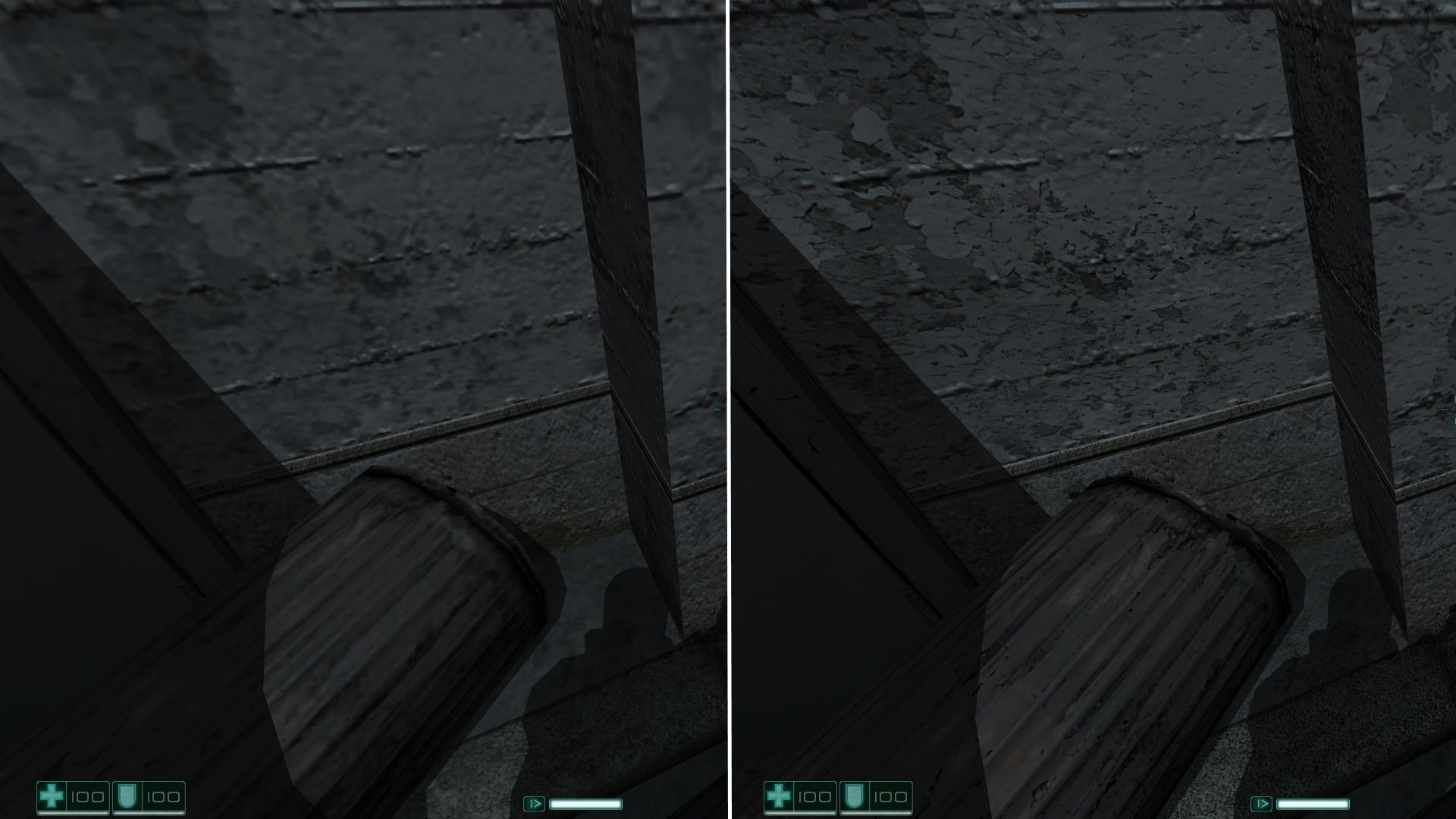 Vanilla vs HD
