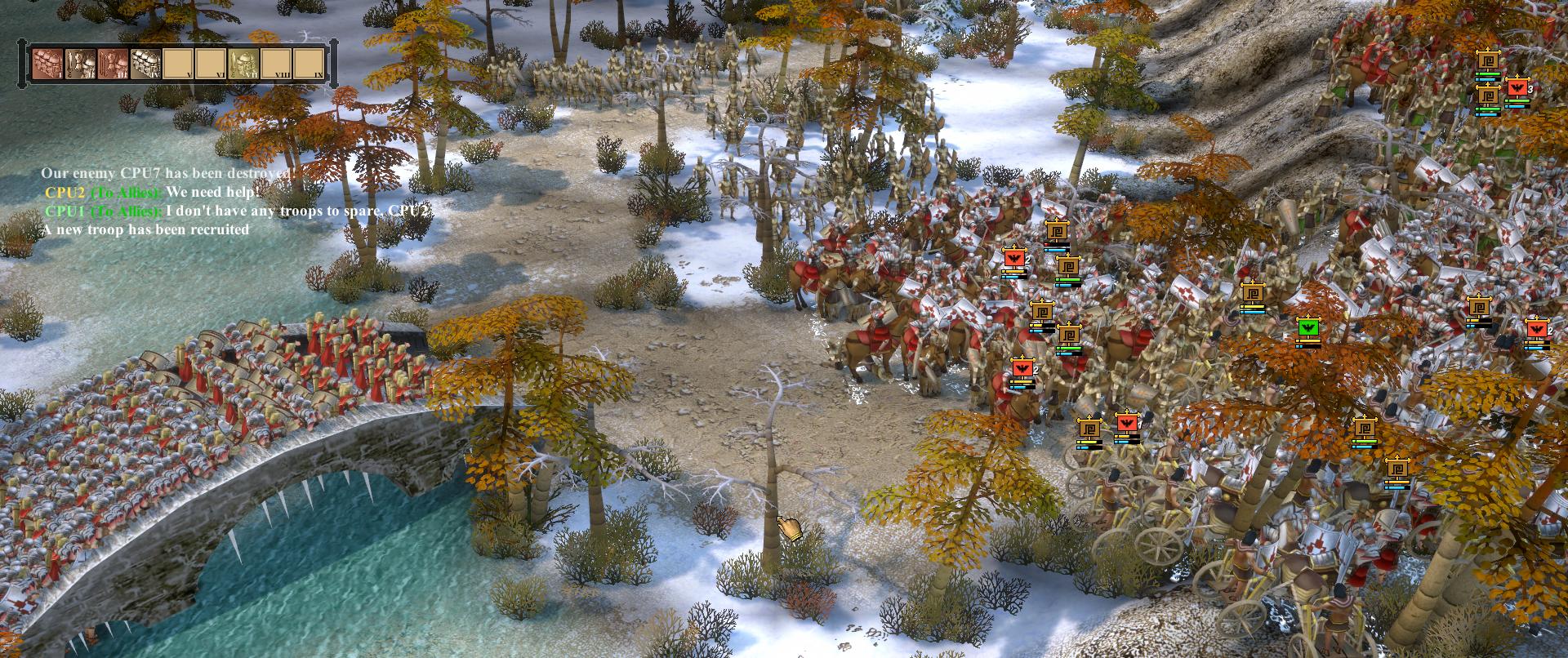 Legionnaires Fighting