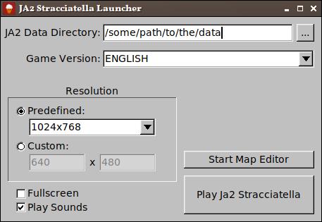 GUI launcher