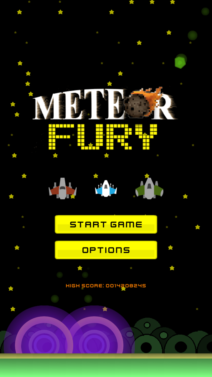 meteor fury action addicting shm 15