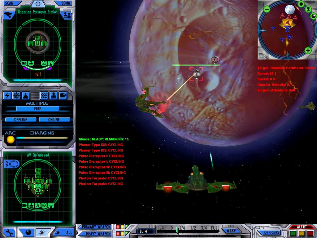Klingon attack of Sphere Builder