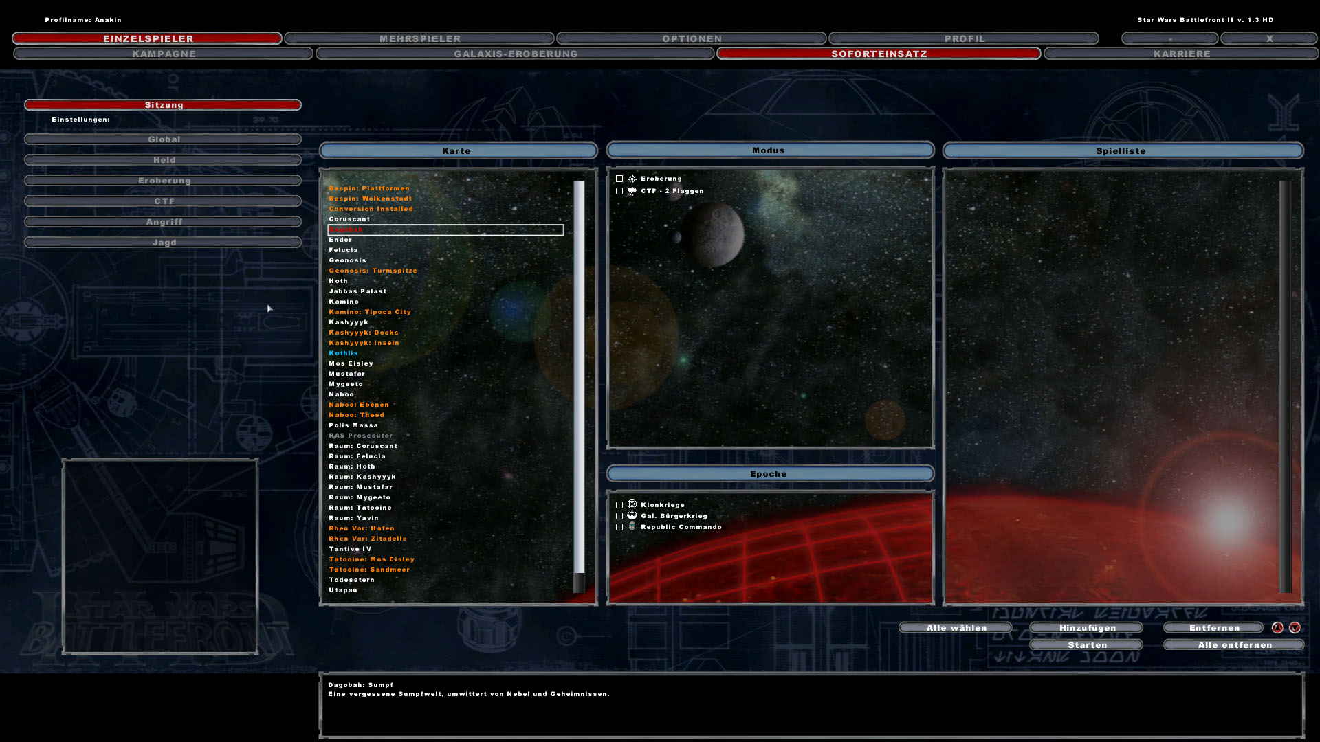 star wars battlefront manual pc