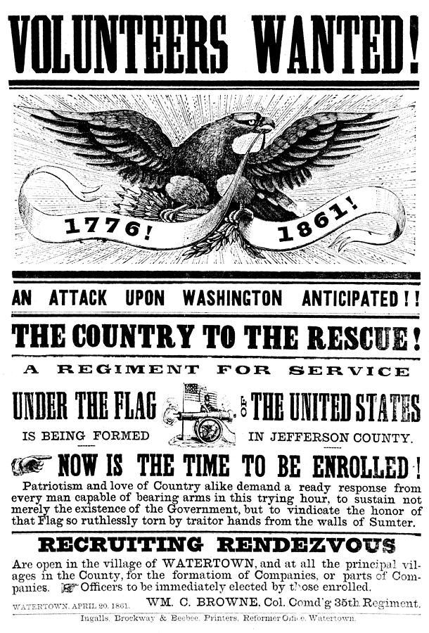 american civil war recruitment p