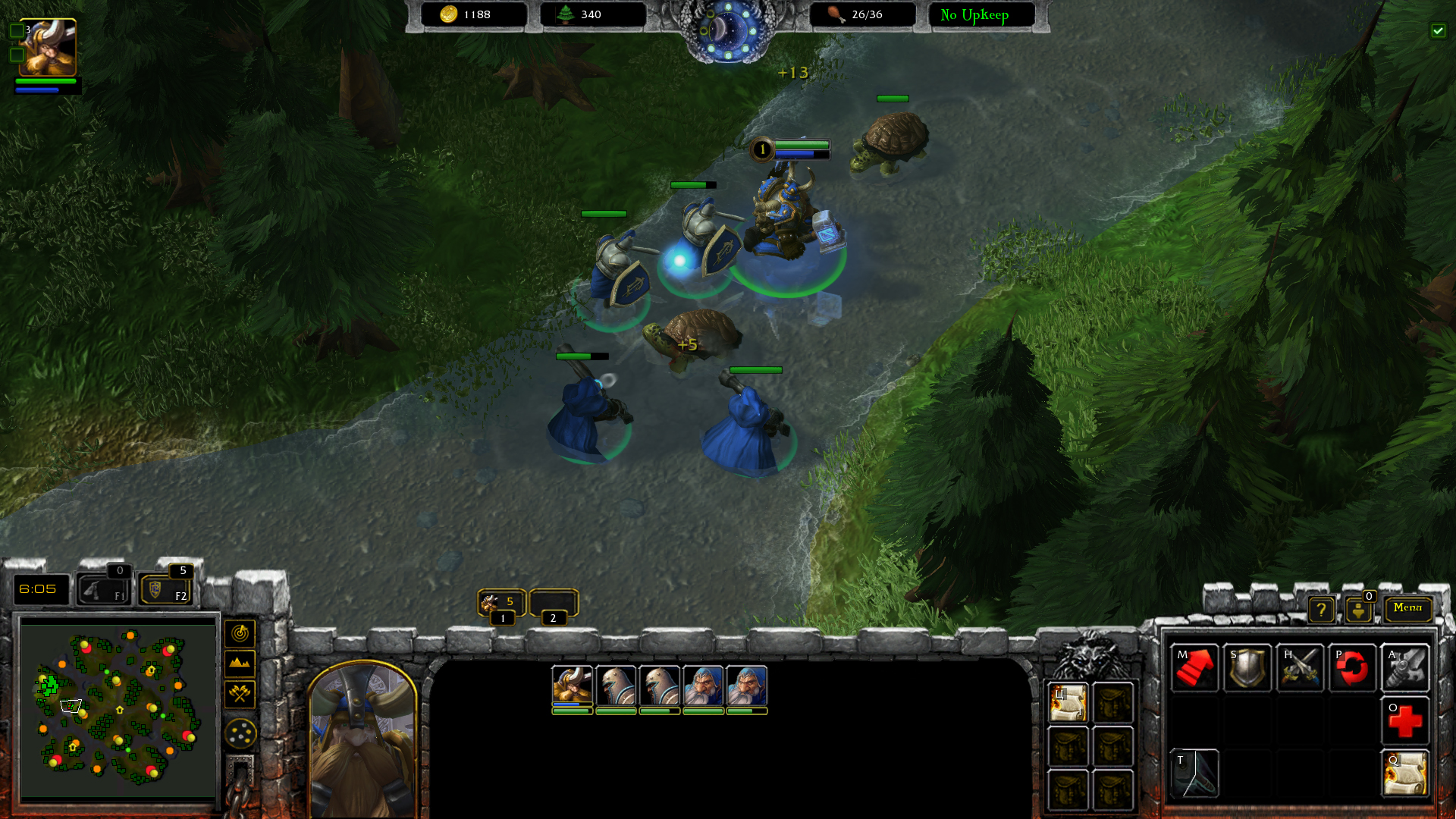 Warcraft: Armies of Azeroth mod for StarCraft II: Legacy of