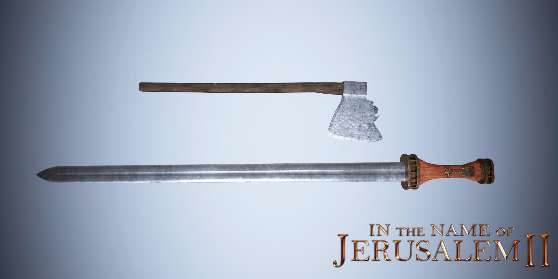 odo axe sword