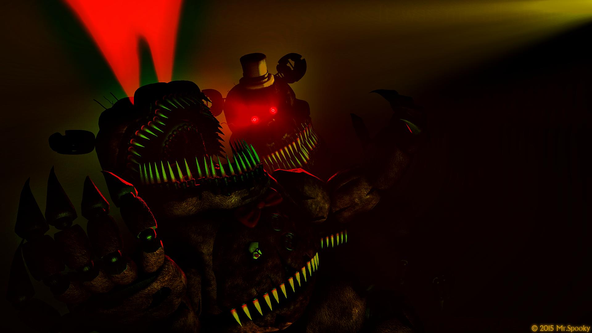 Nightmare Fredbear image - DeathAnquel - Mod DB