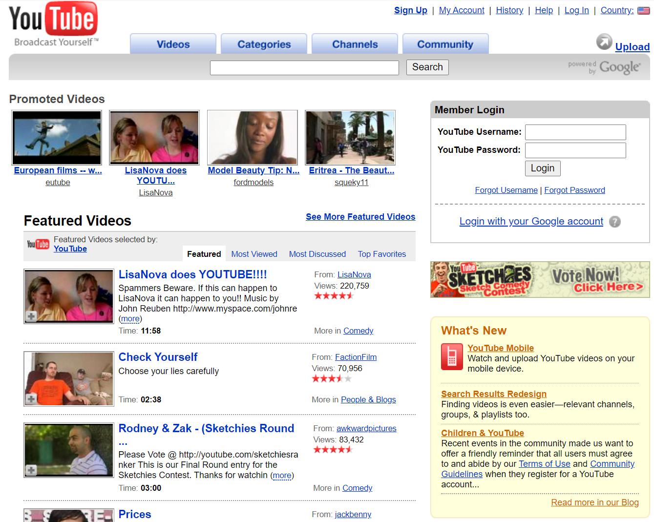 YouTube2007
