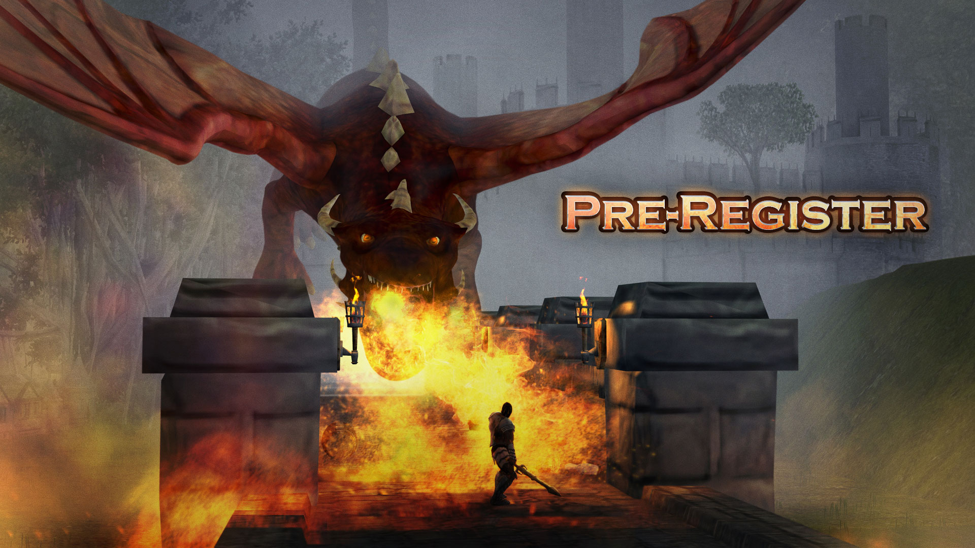 Guardian Light of the world Action RPG game Pre-Register Event