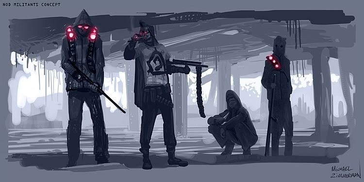 CNCTW Militants Concept Art